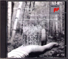 COPLAND The Young Pioneers Piano Music GA LEO SMIT 2CD Sonata Variations Fantasy