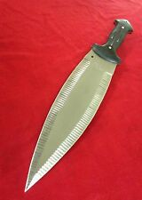 "HUGE Al Mar Style ""SMATCHET""  Short Sword Knife Machette Faceted Double Edge"