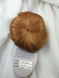 """Blond Short Hair All Over Unisex New Old S Doll Wig Size 11/"""" Style 801 Color Dk"""