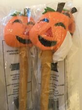 8  Novelty Ballpoint Pen Pumpkin Shape Writing Instrument Thanksgiving Gift *NEW