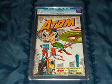Atom #7 CGC 7.0 F/VF (DC - 07/63) 1st Hawkman cross-over!