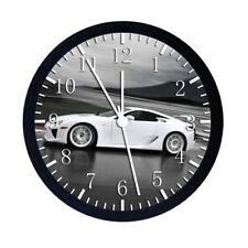 Lexus LFA Black Frame Wall Clock W80