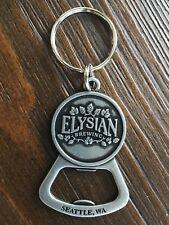 ELYSIAN BREWING BOTTLE OPENER beer brewery Key ring Chain Seattle Washington
