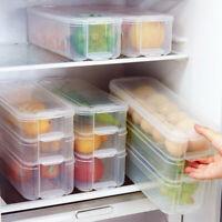 Plastic Storage Collecting Box Basket Kitchen Refrigerator Fruit Food Organiser