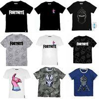 Boys Kids Children Fortnite 100%Cotton Gaming T Shirt Top t-shirt Age 6-16 years