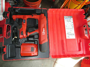Hilti BX 3-A22  Battery Actuated Fastener Fastening Tool Kit 22V - USED (931)