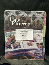 Creative Memories Nip Page Patterns Organizer Family 8 Tabbed Dividers