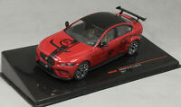 IXO Jaguar XE SV Project 8 in Dark Red 2017 MOC300 1/43 NEW 2020 release