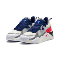 New PUMA RS-X ADER ERROR Sneakers Shoes- White/Blue/Red(369538-01/36953801)
