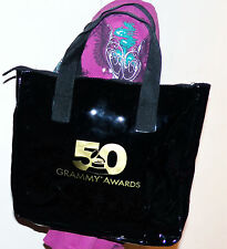 50th Grammy 2008 Awards Show Swag Gift Tote Bag Vegan Patent Leather Kinerase