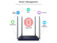 Wavlink Dual Band AC1200 Wi-Fi Router,High Power for Wireless Range Extender