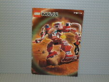 LEGO® Life on Mars Bauanleitung 7314 Recon-Mech RP instruction B4499