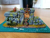 Warhammer 40k or AoS Terrain piece. Nurgle / Death Guard terrain **COMMISSION**