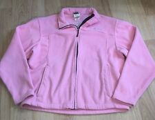 Spyder Full Zip Fleece Jacket Women's Size 10 Pink