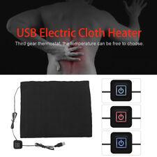1Pcs DC 5V 3-Shift USB Electric Cloth Heater Pad Heating Element for Pet Warmer