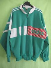 b7a176bfaf Veste Adidas 90'S Vert et blanc Vintage Jacket Oldschool Tracksuit - 168 / S