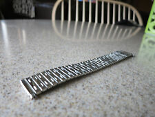Speidel Hirsch 18 to 22mm Self Adjusting Straight End Polished Watch Band G2
