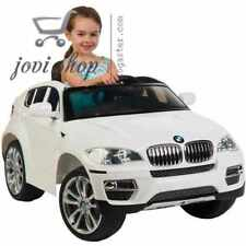 car toys for 3 year old boys/girls BMW X6 6-Volt electric cars for kids to ride