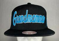 Mitchell and Ness NBA Charlotte Hornets Larry Johnson Nickname Snapback Hat, New