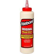 Titebond Original Wood Glue 473ml 16oz 600204 Suitable for Wood, Cloth & Leather