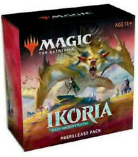 2 Draft Packs & MTG Ikoria Prerelease Pack Magic Booster Kit FREE SHIPPING