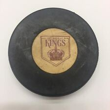 1969 - 1977 NHL Los Angeles Kings Converse Art Ross Rubber Crested Game Puck