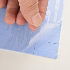 100X 10x10x1mm Silicon Chip Thermal Pad Heatsink Conductive Insulation Paste WYC