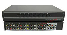 Good quality AV Audio Video switch selector 8 in 2 out