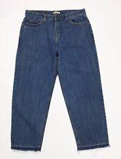 Scout jeans donna M w34 tg 48 EUR 44 carota affusolato strappi usati blu T2786