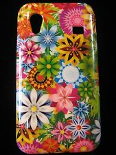 Flowers 7 Cover Case for Samsung Galaxy Ace Psychedelic flowers Geometric Flower