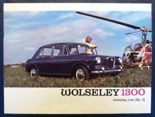 WOLSELEY 1300 CAR SALES BROCHURE. 1967.