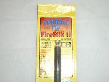 FIRESTIK II FS4-B 4Ft BLACK 5/8 WAVE LENGTH TUNEABLE TIP CB ANTENNA