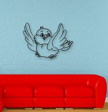 Wall Stickers Vinyl Decal Cute Bird Decor Children's Room Nursery (ig653)