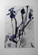 """Oskar Koller: """"Bäume im Nebel""""  Farbserigraphie handsign.+numm."""