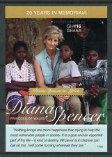 Ghana 2017 MNH Princess Diana of Wales in Africa 20th 1v S/S I Royalty Stamps