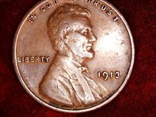 1913 P 1913 D & 1913 S  Lincoln Wheat Ears Very Nice Coin VF to EF   Lot 556