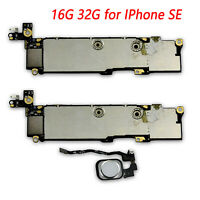 Logic Board Motherboard Unlocked Main Logic with/no White Touch ID for IPhone SE