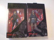 Guerra DE LAS GALAXIAS la serie negra sargento Jyn Observatorio & Capitán Cassian Andor, ver fotos.