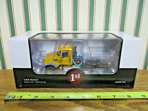 Yellow Mack Granite MP Engine Series Truck  By First Gear 1/50th Scale