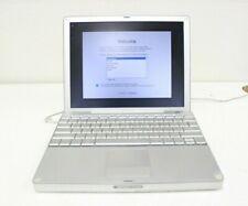 "Apple PowerBook G4 1.33 12"" A1010 1.33 GHz PowerPC 7447a 256MB Ram 60GB HDD"