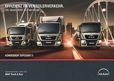 Prospekt MAN TG Verteilerverkehr 8 12 2012 LKW Broschüre Lastwagen Auto brochure