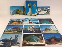 Lot of 20 Japan World Expo 1970 Vintage Postcards Unused Japanese Architecture