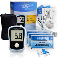 Kit Medidor Test Prueba Azucar Glucosa en Sangre Glucometro Monitor Diabetico CE