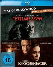 The Equalizer + Der Knochenjäger Blu-ray NEU OVP 2 Filme Denzel Washington