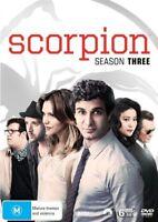 Scorpion : Season 3 (DVD, 6-Disc Set) NEW