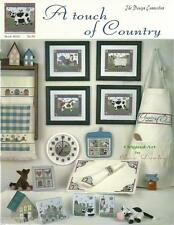 A Touch of Country Coco Dowley Design Connection #30 Cross Stitch Pattern NEW