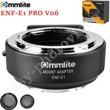 Commlite CM-ENF-E1 PRO V06 Focus Lens Adapter for Nikon F Lens to Sony E mount