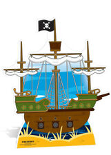 Pirate Ship Life Size Cut Out Party Decoration