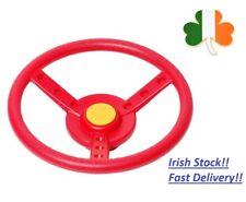 Plastic Steering Wheel for Kids Garden Climbing Frame Mount Outdoor Activity