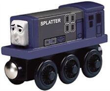 THOMAS THE TANK ENGINE & FRIENDS -WOODEN SPLATTER **NIB**2011*YELLOW LABEL BOX**